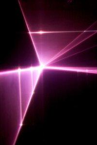 wiązka lasera