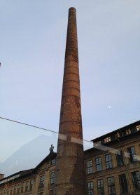 Wysoki komin